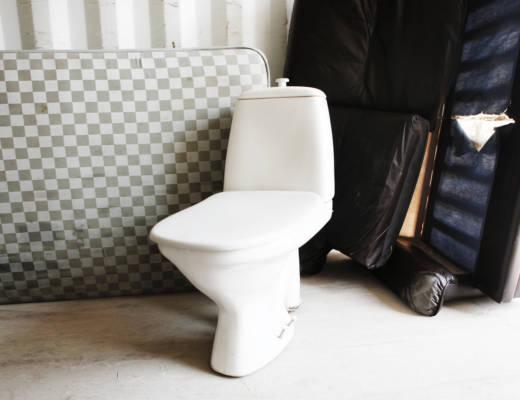 Esimerkiksi runkopatja ja wc-istuin ovat suurikokoisia jätteitä