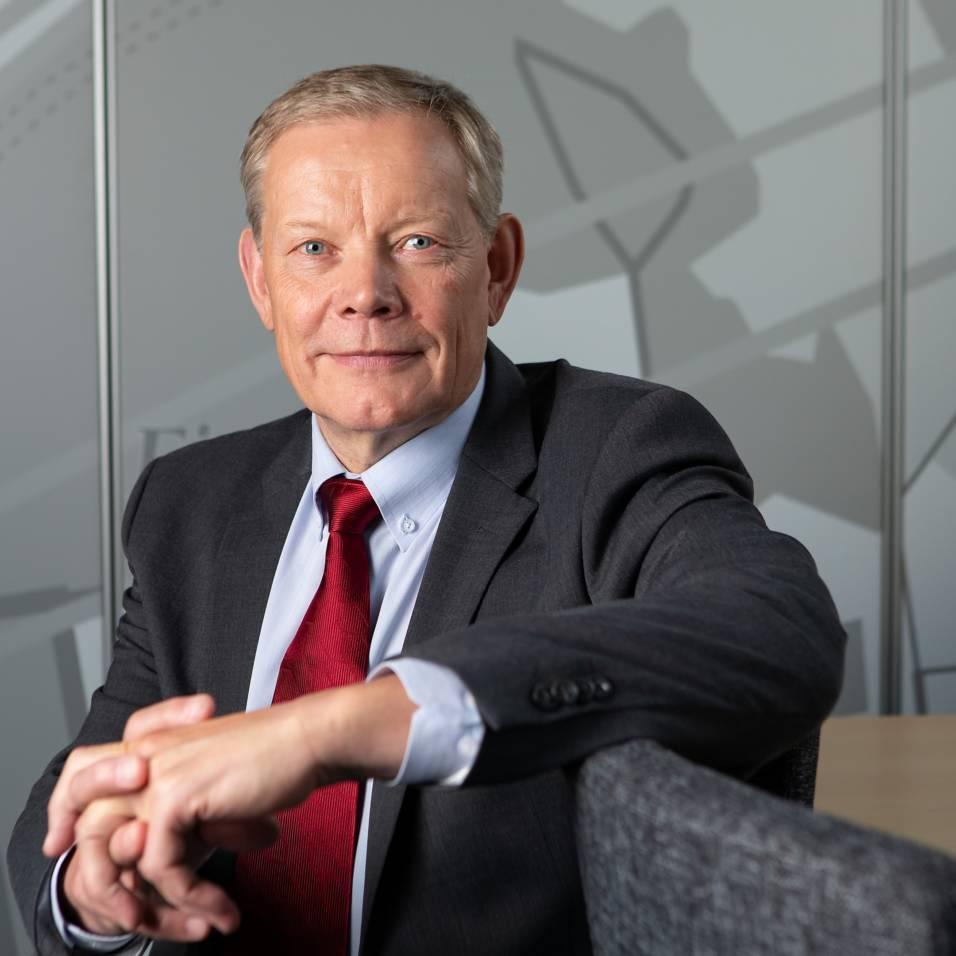 Toimitusjohtaja Harri Kallio