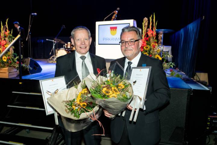Pirkanmaan 2020 palkitut, Harri Kallio ja Sakari Ermala.